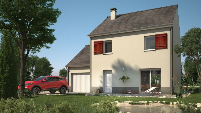 Maison  5 pièces + Terrain 342 m² Fontenay-le-Vicomte par MAISONS EVOLUTION