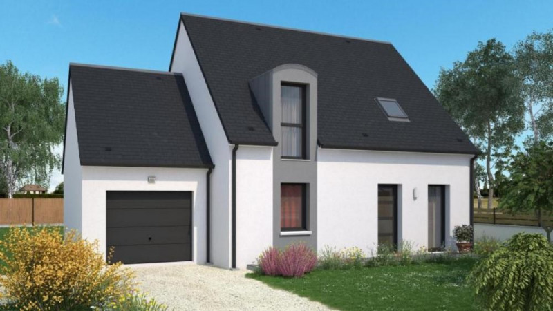 Maison  5 pièces + Terrain 733 m² Notre-Dame-d'Oé par maisons Ericlor