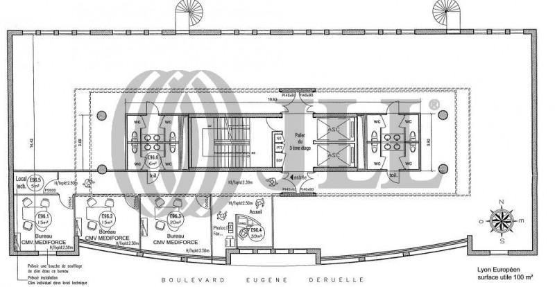 location bureau lyon 3 me part dieu 69003 bureau lyon 3 me part dieu de 188 m ref l57048. Black Bedroom Furniture Sets. Home Design Ideas