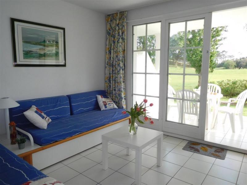 salon rdc avec terrasse vue golf