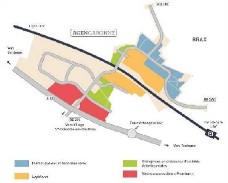 Location Local d'activités / Entrepôt Sainte-Colombe-en-Bruilhois