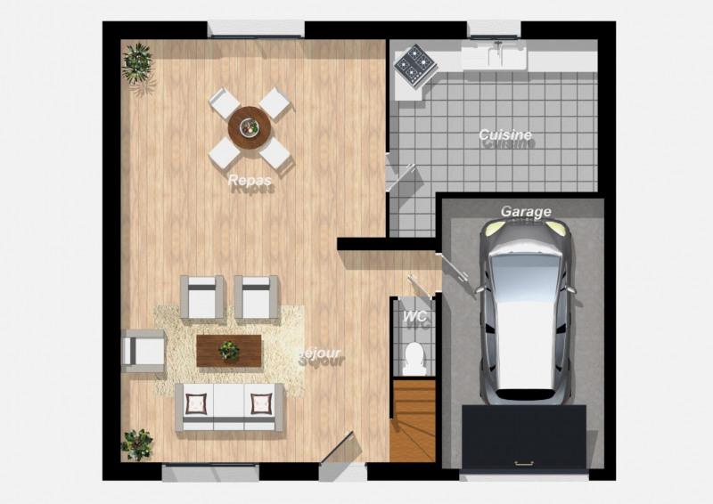 Maison  5 pièces + Terrain 651 m² Montigny-Lencoup par BATICONFORT