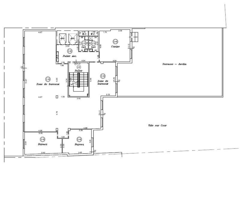 location bureau boulogne billancourt hauts de seine 92 1323 m r f rence n 421526. Black Bedroom Furniture Sets. Home Design Ideas