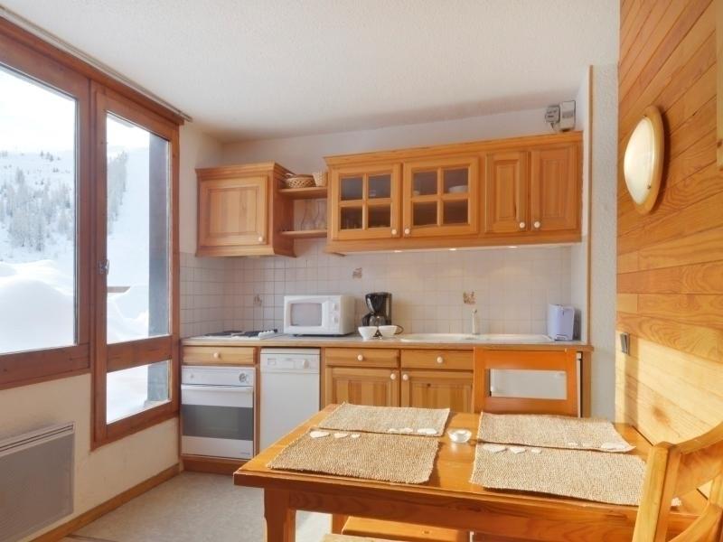 Appartement au pied des pistes composé de 2 pièces pour 5 personnes de 30 m²