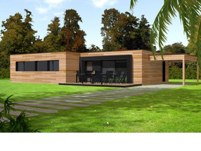 Maison  4 pièces + Terrain 503 m² Lézardrieux par PRIMOBOIS LANNION