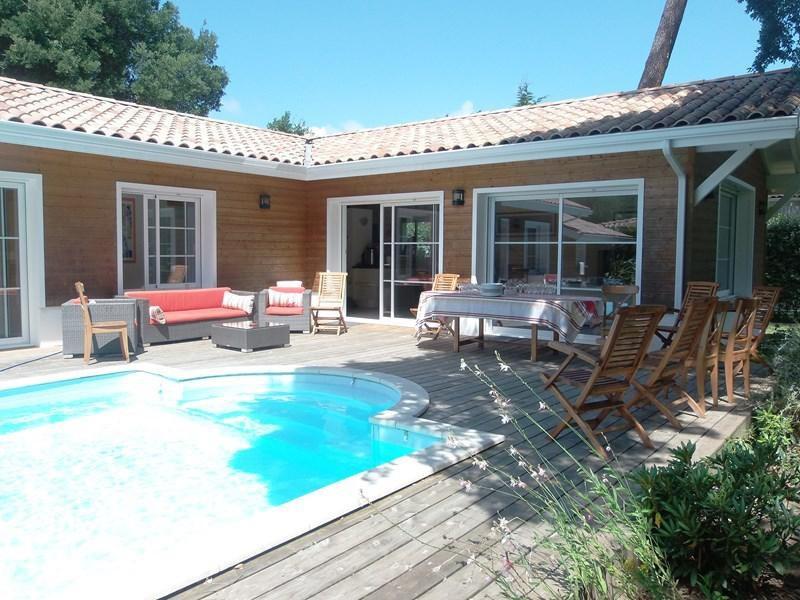 Maison 8 personnes avec piscine à Hossegor.