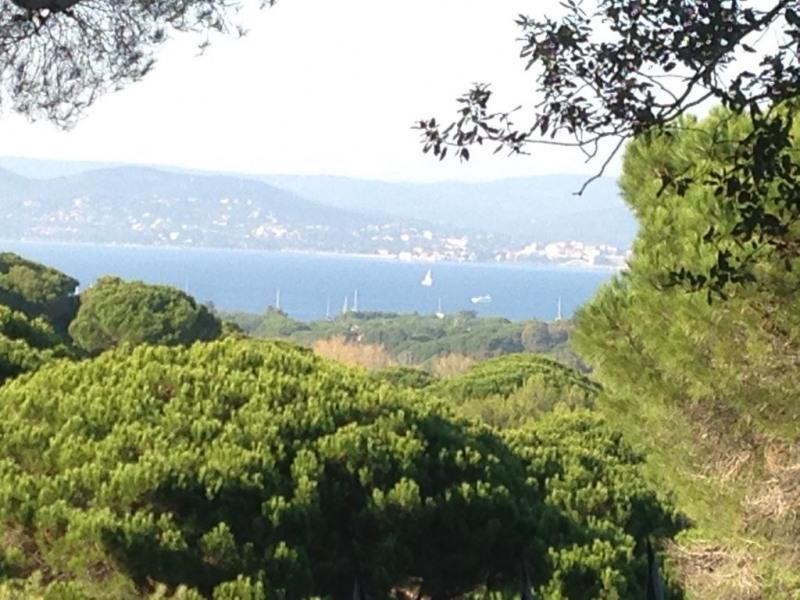 Vue sur la baie de Saint-Tropez