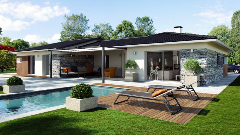 Maison  5 pièces + Terrain 829 m² Pujols-sur-Ciron par ALPHA CONSTRUCTIONS - GRADIGNAN