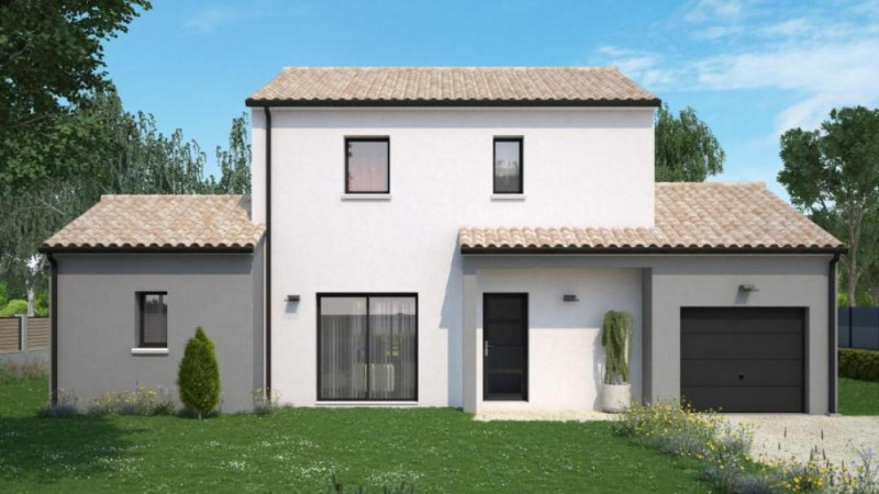 Maison  5 pièces + Terrain 750 m² Chasseneuil-du-Poitou par Maisons Ericlor