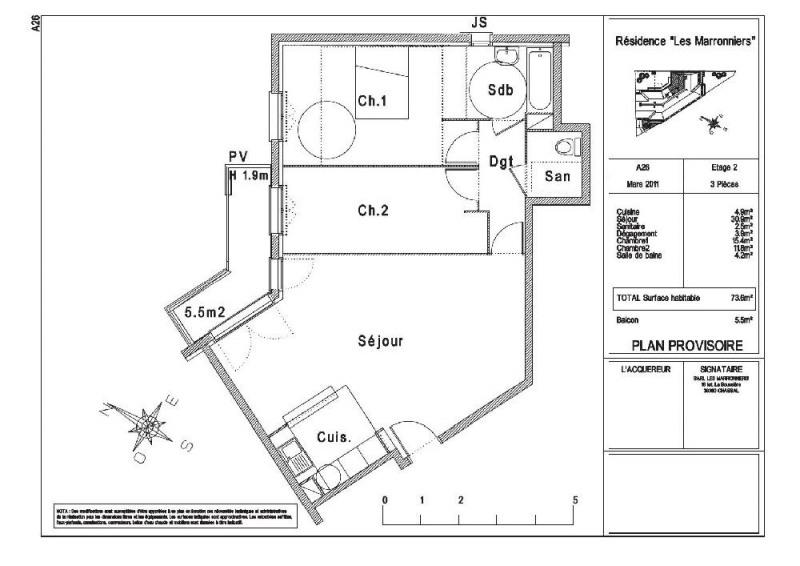 location appartement 3 pi ces limeil br vannes appartement f3 t3 3 pi ces 73 6m 950 mois. Black Bedroom Furniture Sets. Home Design Ideas