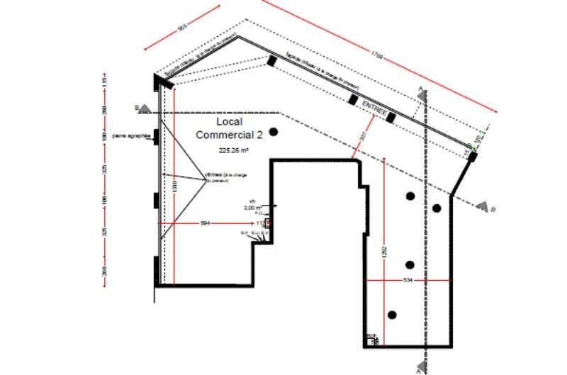 location bureau bois colombes hauts de seine 92 240 m. Black Bedroom Furniture Sets. Home Design Ideas