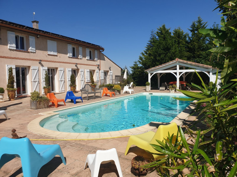 Holiday rentals Lherm - Cottage - 6 persons - BBQ - Photo N° 1