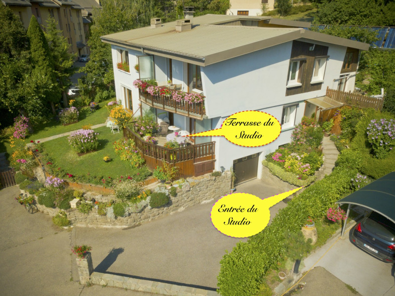 Location vacances Embrun -  Appartement - 2 personnes - Barbecue - Photo N° 1