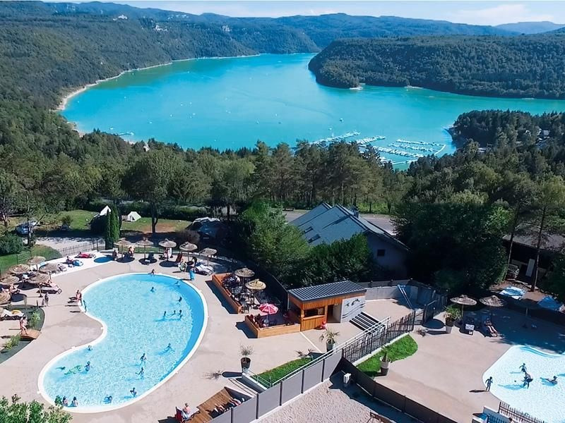 Camping Trelachaume, 154 emplacements, 26 locatifs