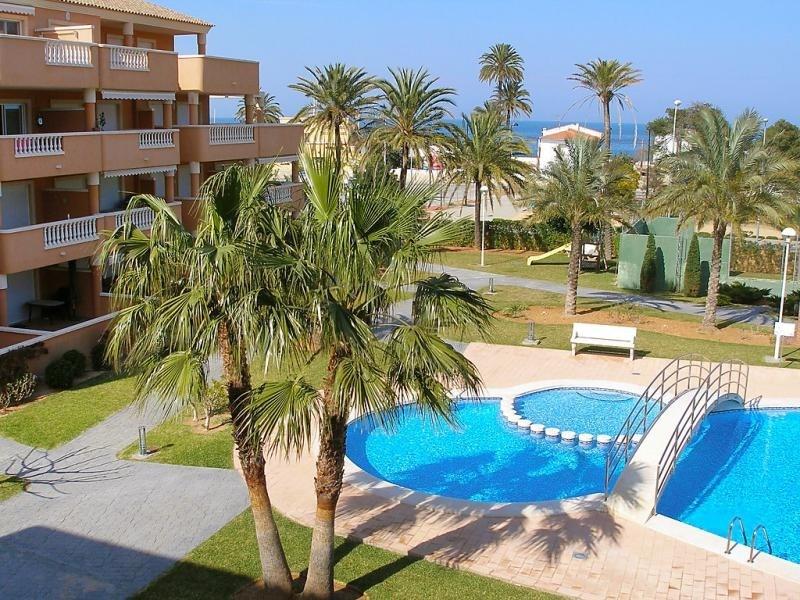 Location vacances Dénia -  Appartement - 4 personnes - Jardin - Photo N° 1