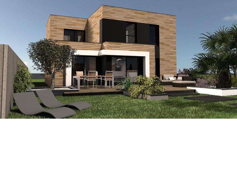 Maison  6 pièces + Terrain 414 m² Pleumeur Bodou par MAISONS NATURE & BOIS LANNION