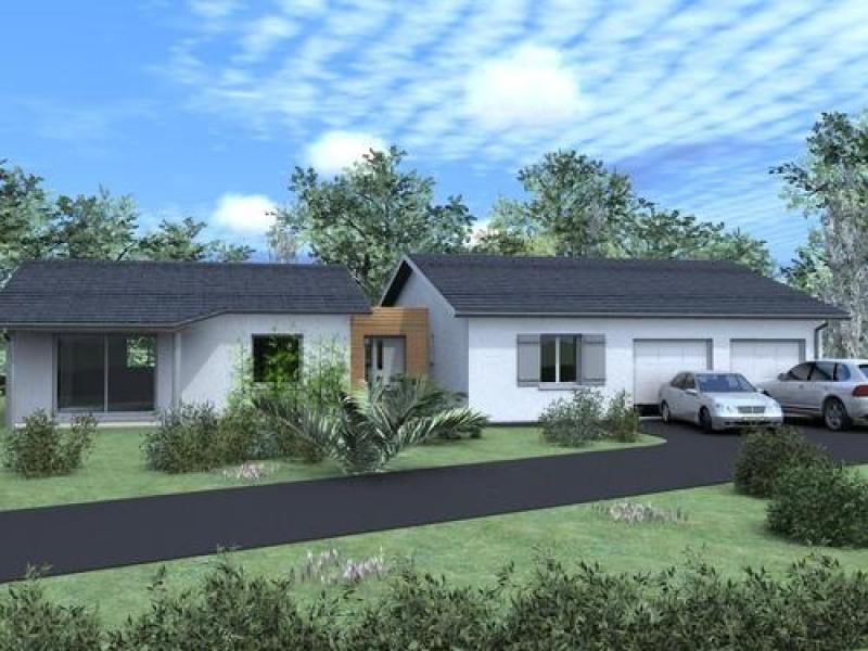 Maison  4 pièces + Terrain 1300 m² Salleboeuf par TANAIS HABITAT