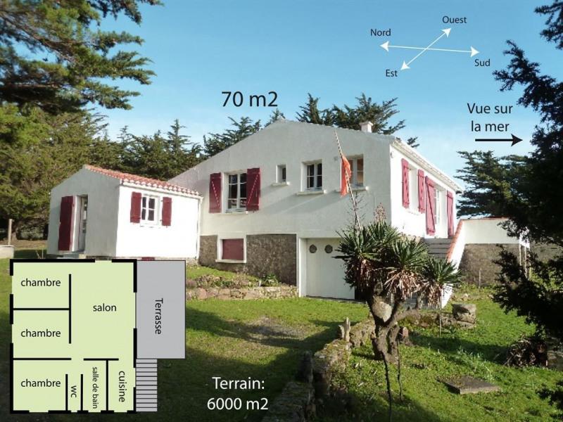 Villa pour 7 pers. avec parking privé, L'Île-d'Yeu