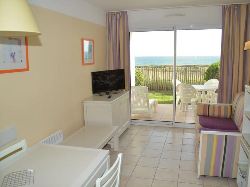 Appartement A006 tout confort dans résidence bord de mer avec piscines chauffées