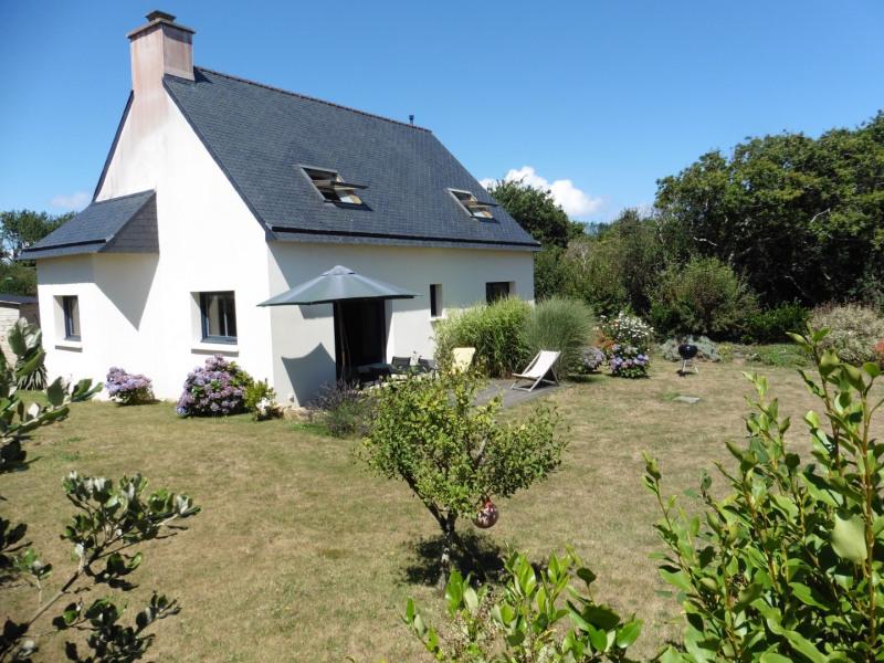 la maison et terrasse plein sud