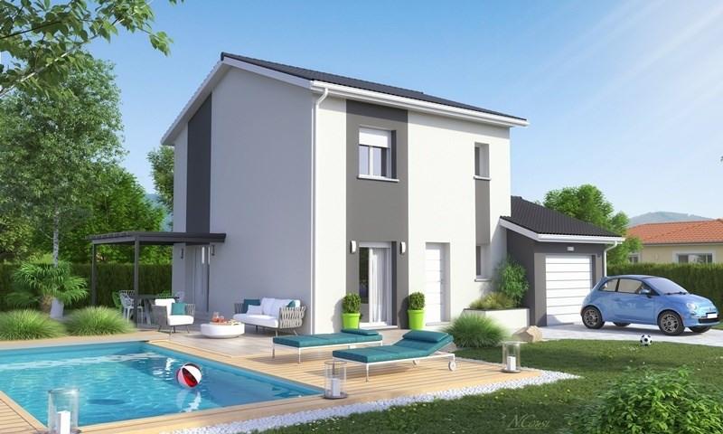 Maison  4 pièces + Terrain 610 m² Beaucroissant par MAISONS AXIAL