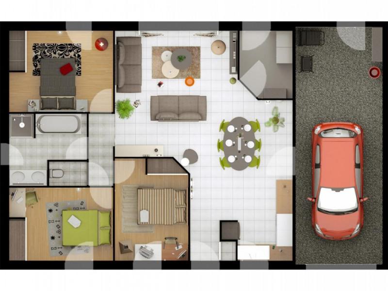 Maison  5 pièces + Terrain 522 m² Beauvoir-sur-Mer par ALLIANCE CONSTRUCTION CHALLANS
