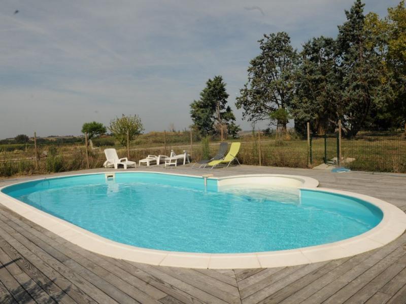 Maison 15 personnes sur côteaux du Lauragais - Parc avec Piscine - 7 chambres