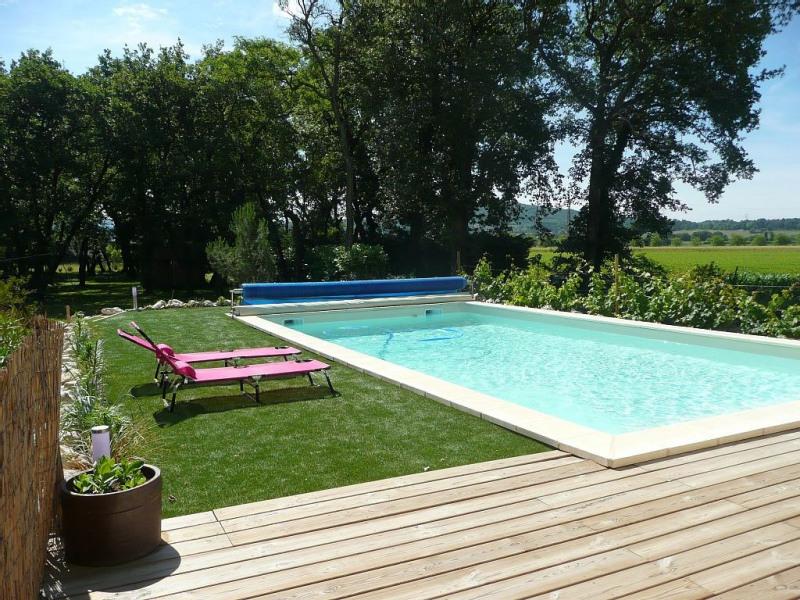 Gite avec piscine dans un cadre bucolique et reposant