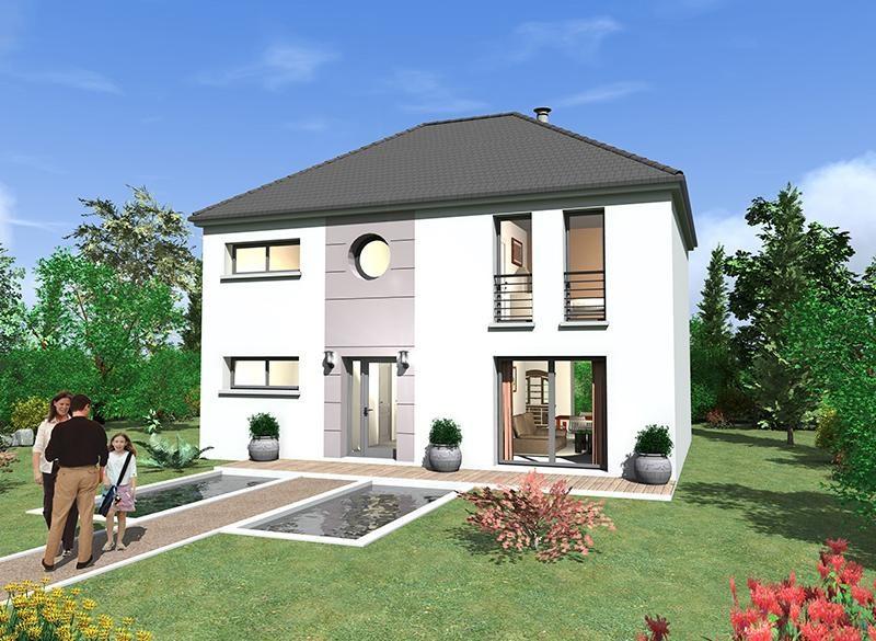 """Modèle de maison  """"Dauphine 130"""" à partir de 5 pièces Seine-Saint-Denis par MAISONS BERVAL – DIRECTION COMMERCIALE"""