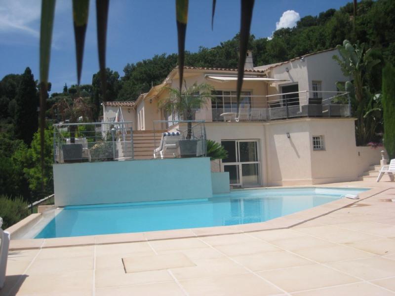 maison vue piscine