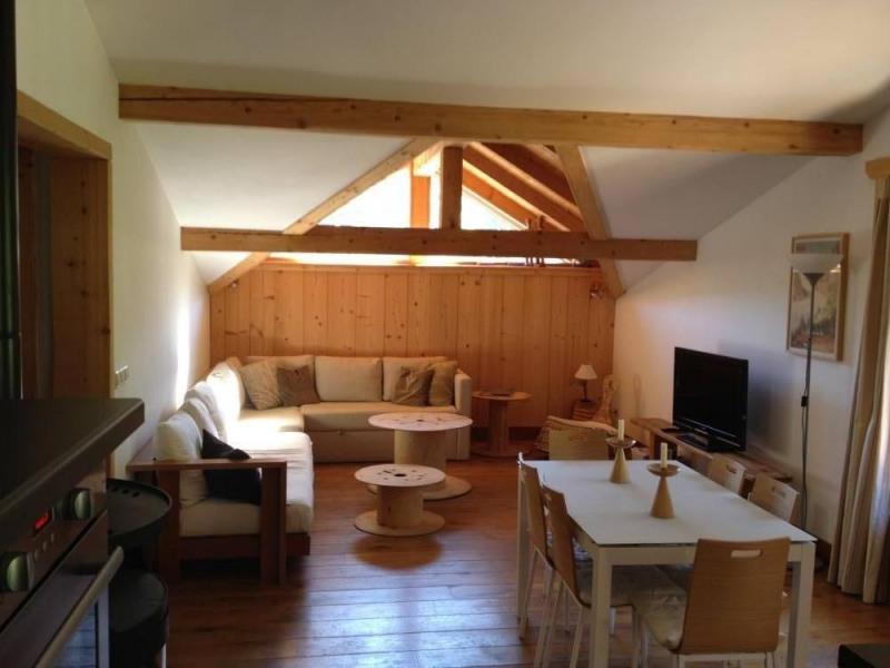 Appartement chalet style loft à louer a coté de Chamonix