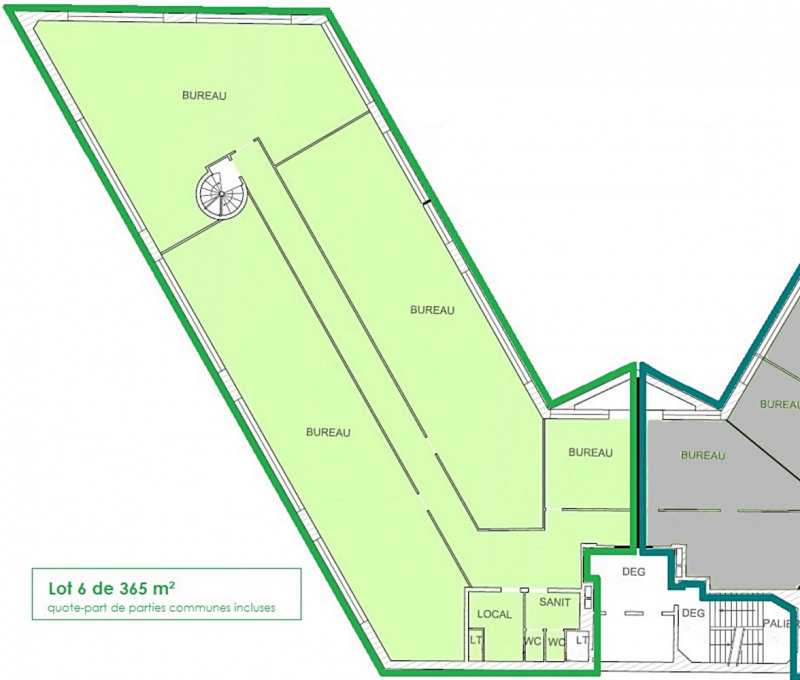 vente bureau courcouronnes essonne 91 318 m r f rence n 476. Black Bedroom Furniture Sets. Home Design Ideas
