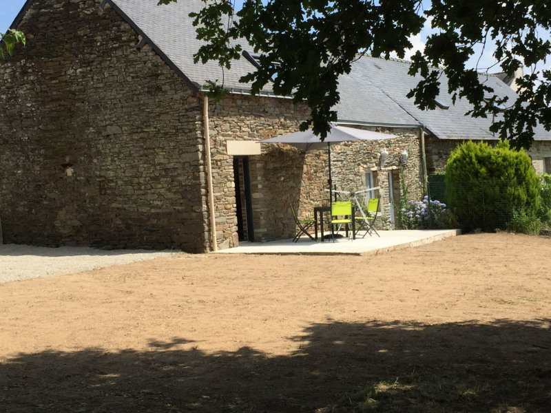 Location vacances Plumelec -  Gite - 2 personnes - Jardin - Photo N° 1