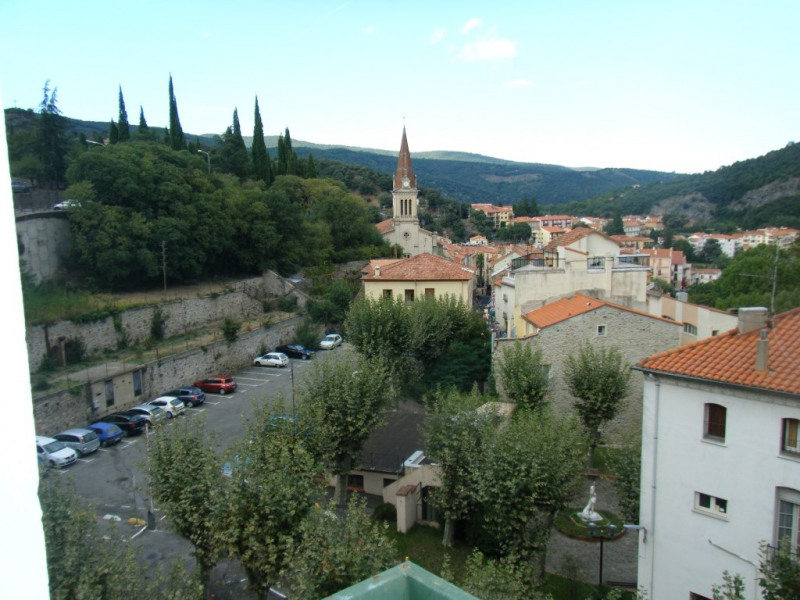 Vue du balcon côté ville