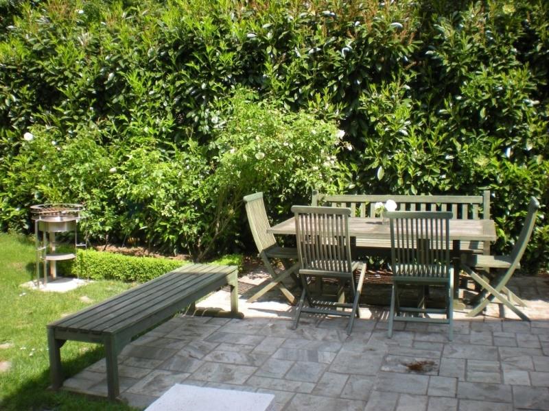 Dans les beaux jours Un espace à votre disposition dans le jardin