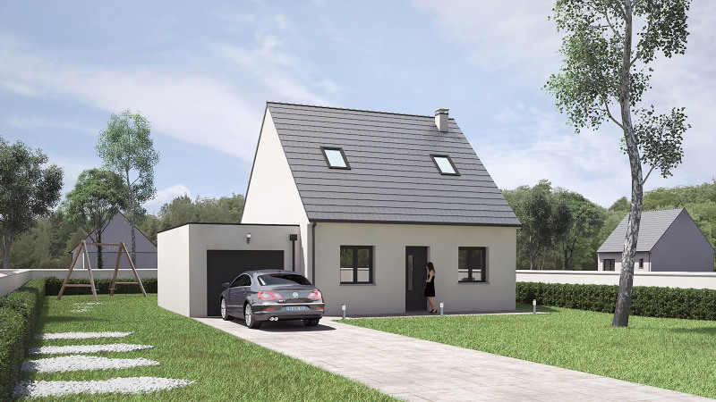 Maison  4 pièces + Terrain 502 m² Joué-Lès-Tours par LONA CONSTRUCTION