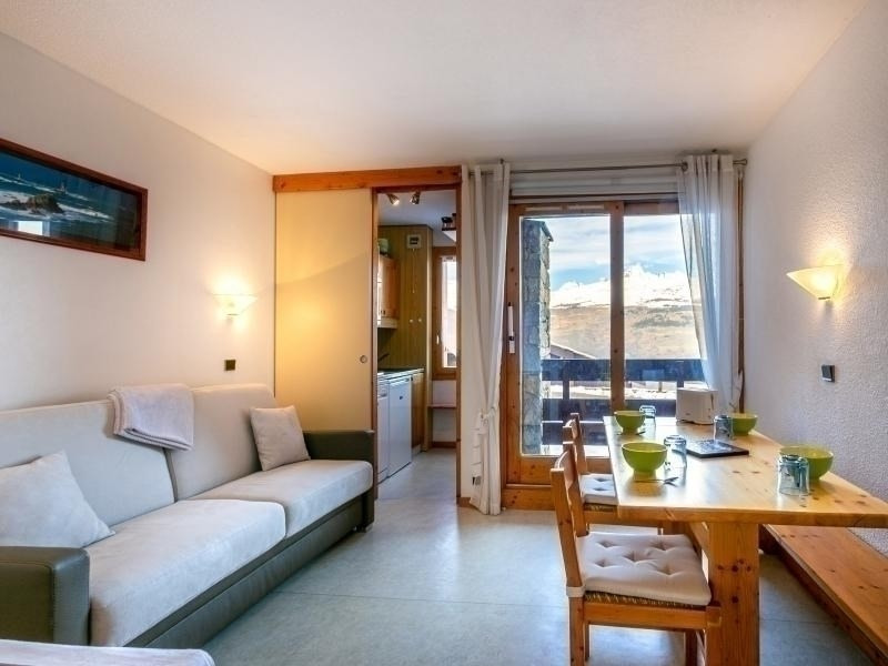Location vacances La Plagne-Tarentaise -  Appartement - 4 personnes - Télévision - Photo N° 1