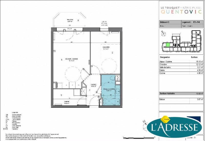 vente appartement 2 pi ces le touquet paris plage appartement f2 t2 2 pi ces 46m 350000. Black Bedroom Furniture Sets. Home Design Ideas