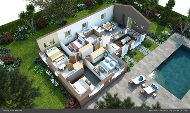 Maison  5 pièces + Terrain 1241 m² Lorgues par PCA MAISONS - LE MUY