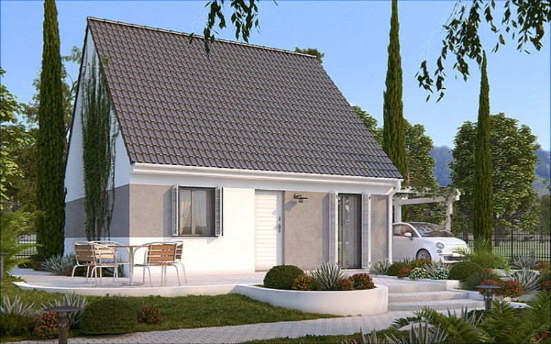 Maison  2 pièces + Terrain 340 m² Gretz-Armainvilliers par HABITAT PARCOEUR