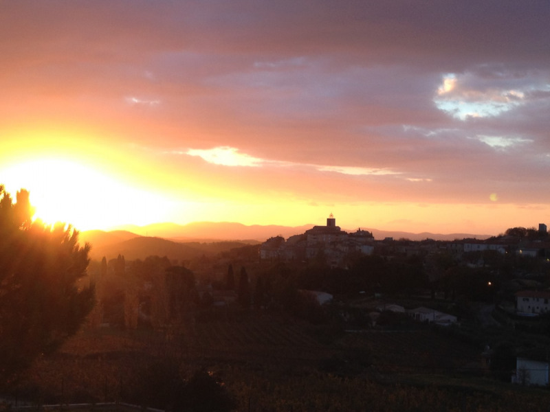 Une vue magnifique sur Flayosc.