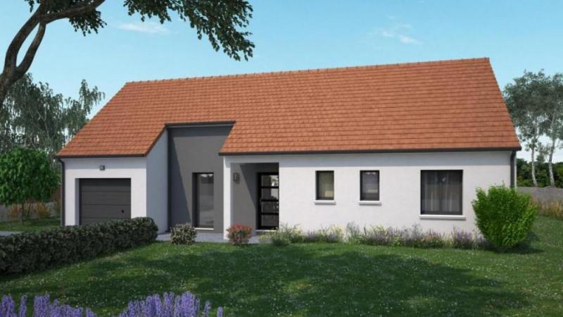 Maison  4 pièces + Terrain 1122 m² Dampierre-en-Burly par maisons ericlor