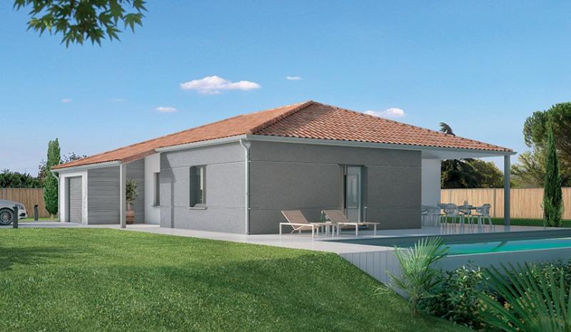 Maison  4 pièces + Terrain 1000 m² Drémil-Lafage par MAISONS LOGECO