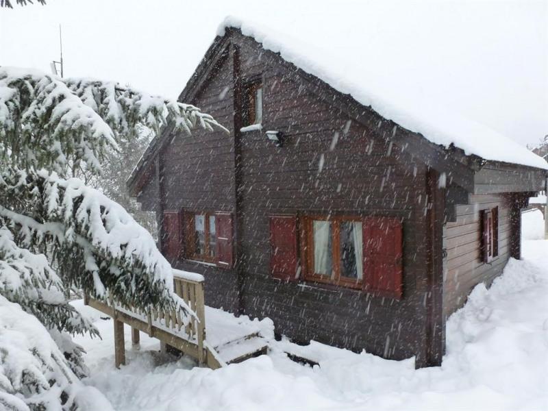 Le Chalet d'Ania sous la neige
