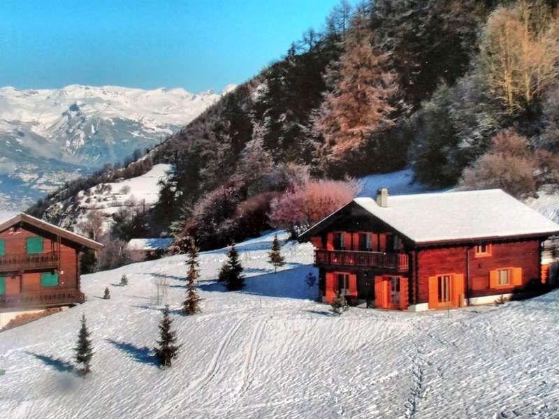 magnifique chalet au plus agréable endroit  de  la Tzoumaz,  4  Vallées.