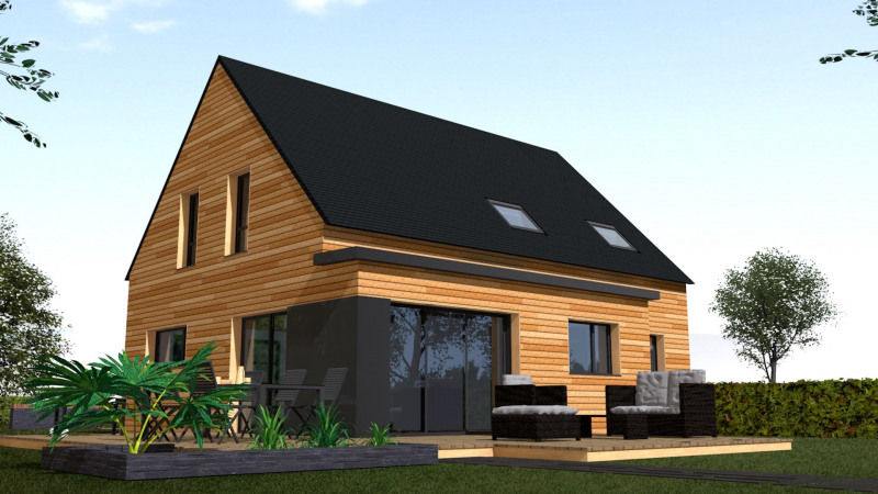 Maison  7 pièces + Terrain 370 m² Cancale par MAISONS NATURE & BOIS RENNES