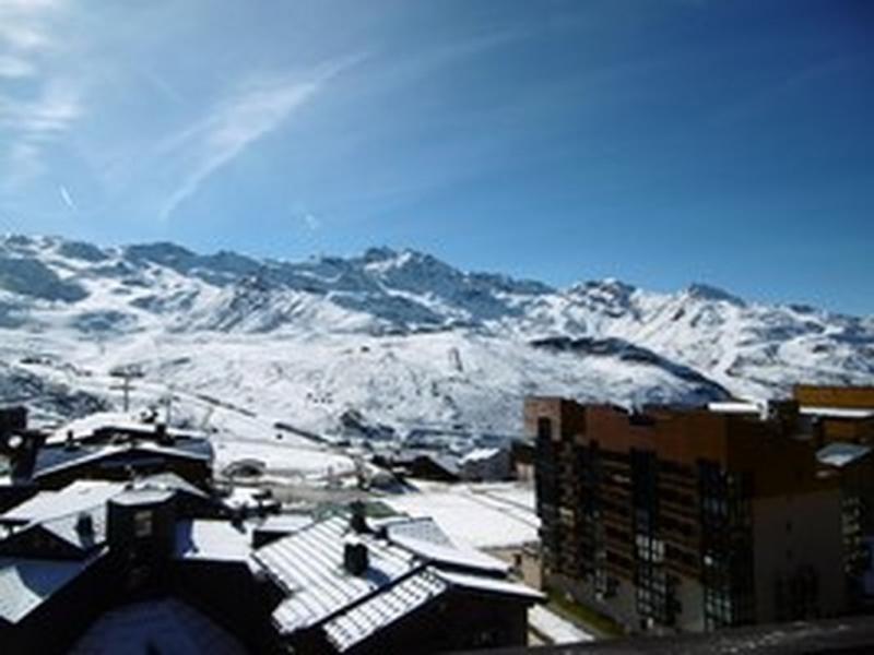 Appartement de 42 m2 au dernier étage, skis aux pieds, balcon exposé sud
