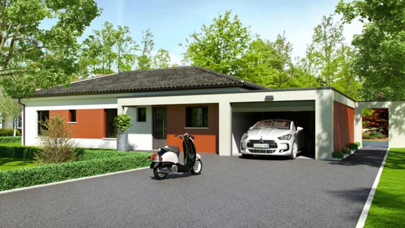Maison  4 pièces + Terrain 800 m² Bruguières par CELIA CREATION