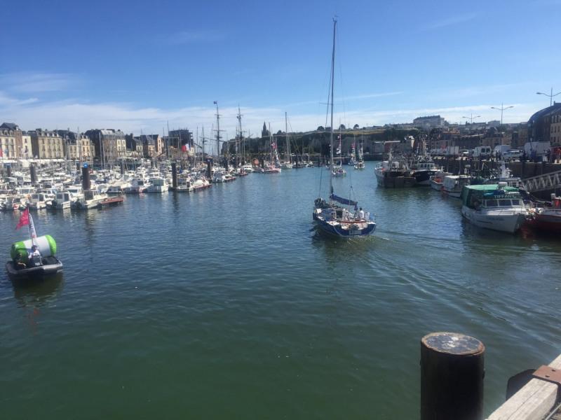 Dieppe port de plaisance, de pêche, Ferry vers l'Angleterre