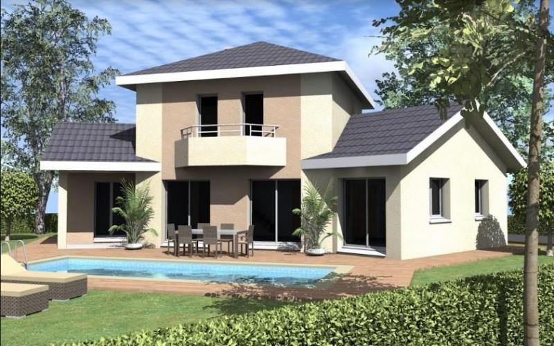 Maison  4 pièces + Terrain 1500 m² Nivolas-Vermelle par TRADICONFORT BOURGOIN